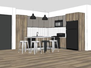 Axis Floor Plan Rendering