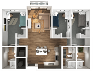 Axis Orem Floor Plan